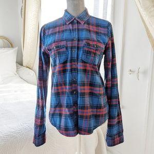 Abercrombie plaid flannel shirt